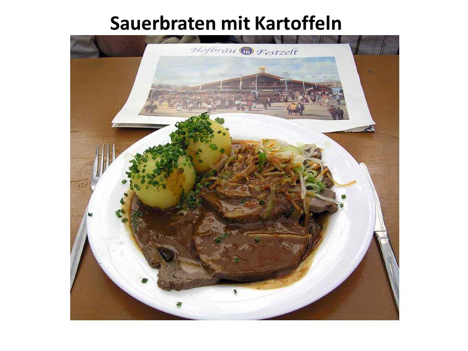 Sauerbraten mit Kartoffeln