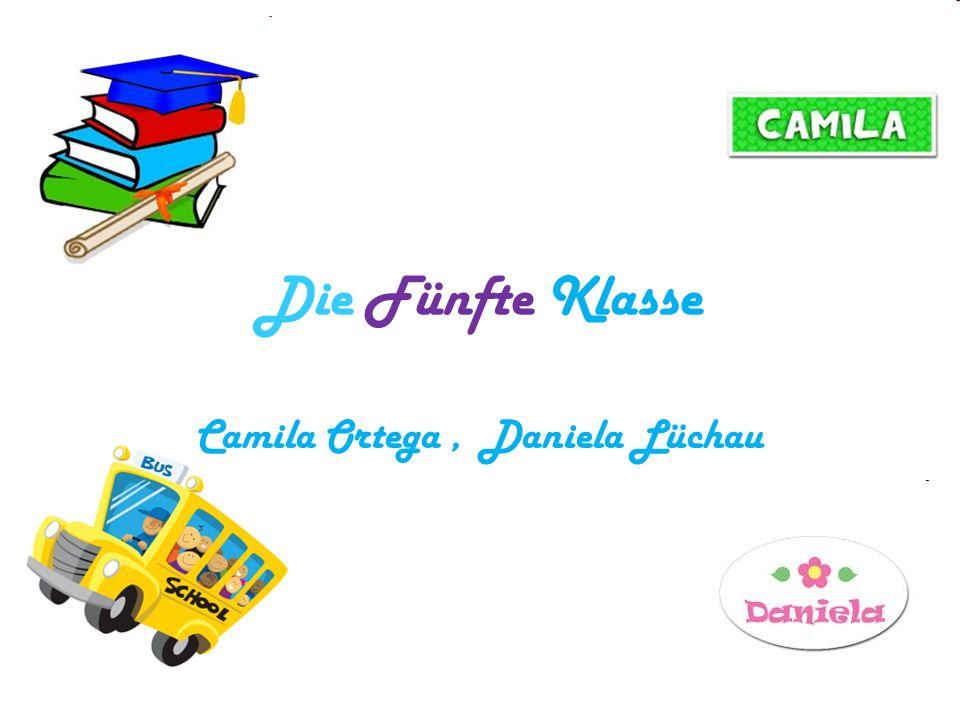 Die Fünfte Klasse Camila Ortega, Daniela Lüchau