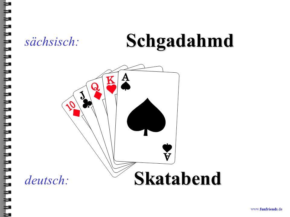 funfriends www.funfriends.de deutsch: Radscho sächsisch: Radio