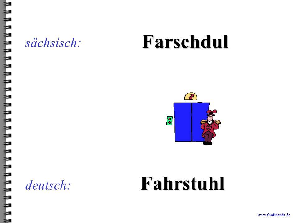 funfriends www.funfriends.de deutsch: Glemdnor sächsisch: Klempner