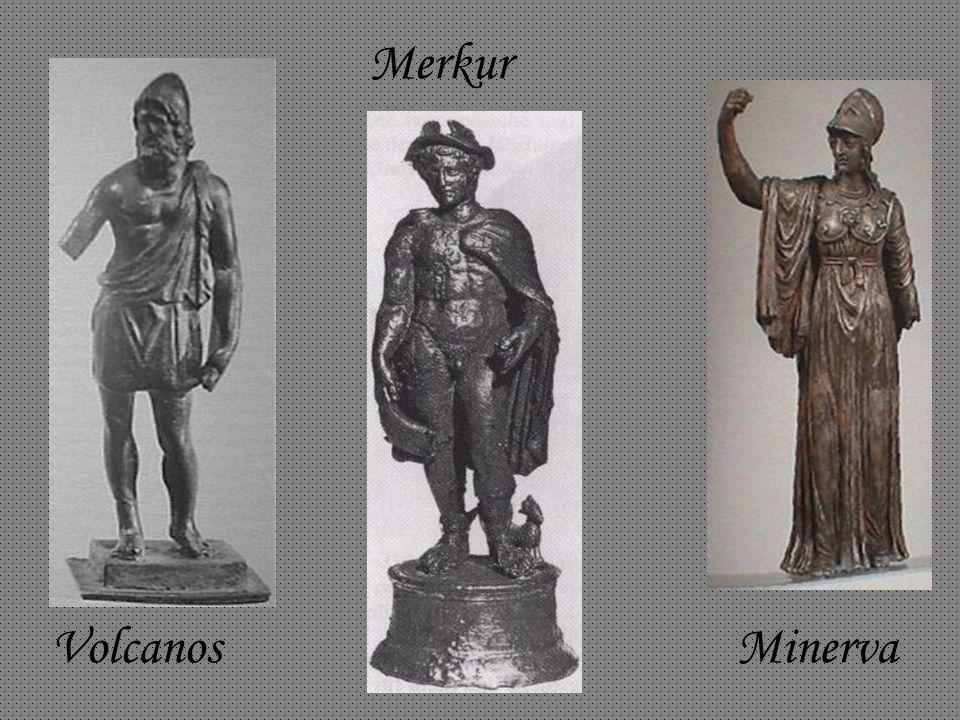 Volcanos Minerva Merkur