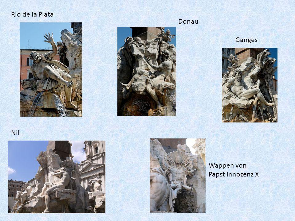 Rio de la Plata Ganges Nil Donau Wappen von Papst Innozenz X