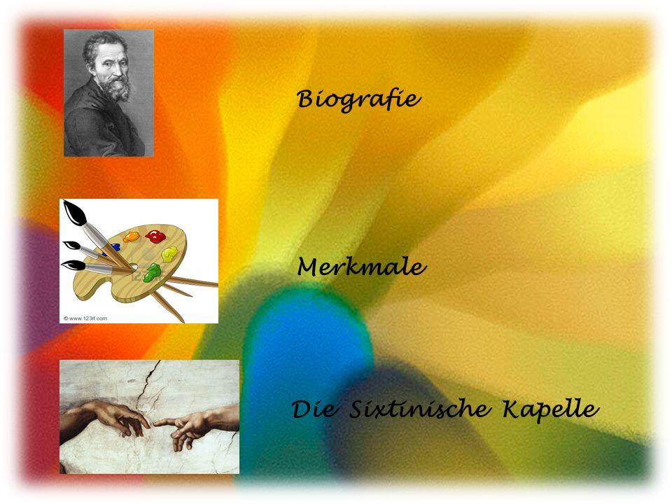 Biografie Merkmale Die Sixtinische Kapelle