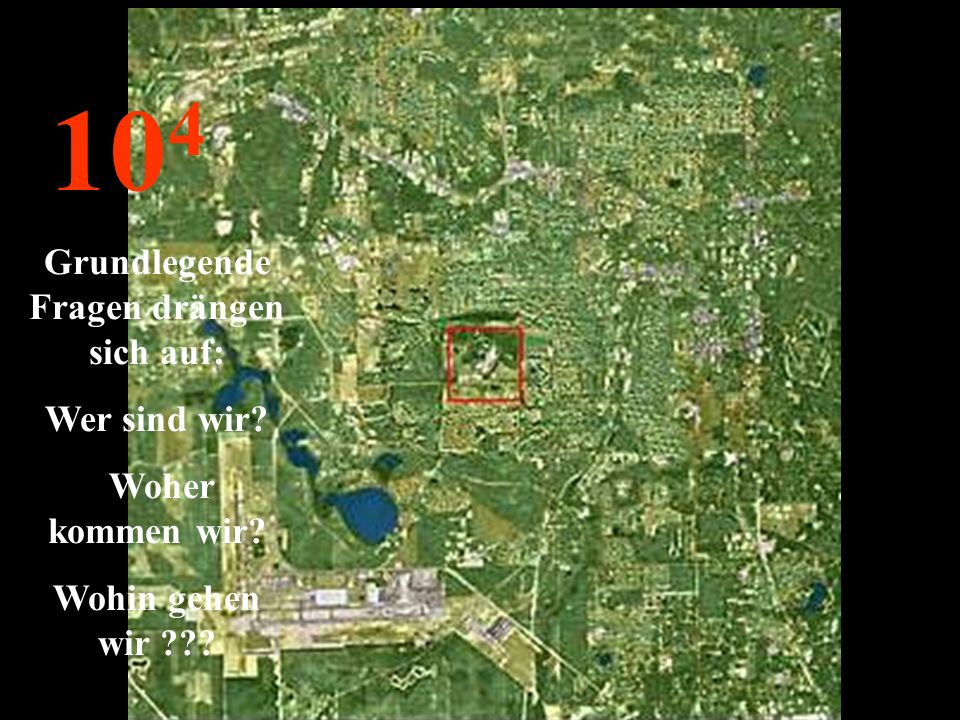 http://wissenschaft3000.wordpress.com/ 10 5 Ihr habt die Erde gesehen, verloren im Weltraum