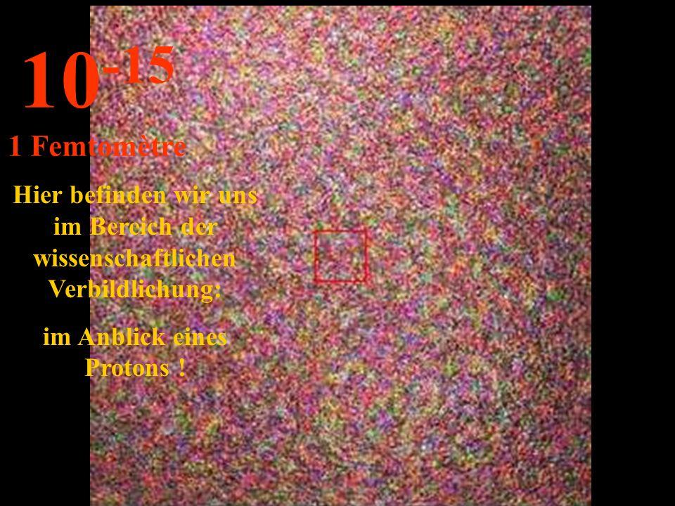http://wissenschaft3000.wordpress.com/ Hier sehen wir ein C-Atom ! 10 -14 10 Femtometer