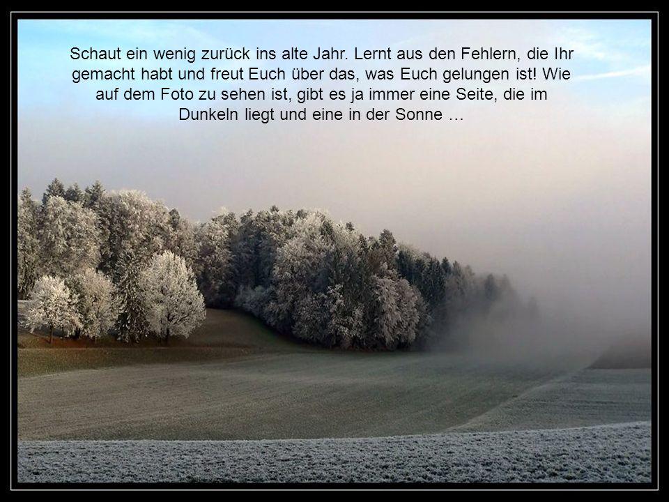 … aber Weihnachten trägt man ja auch im Herzen, wenn man sie da nicht spürt, hilft auch die tief verschneite Winterlandschaft nicht. Also, geben wir u