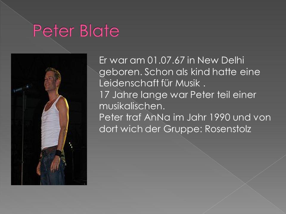 Sie war am 25.09.1969 in Berlin geboren.