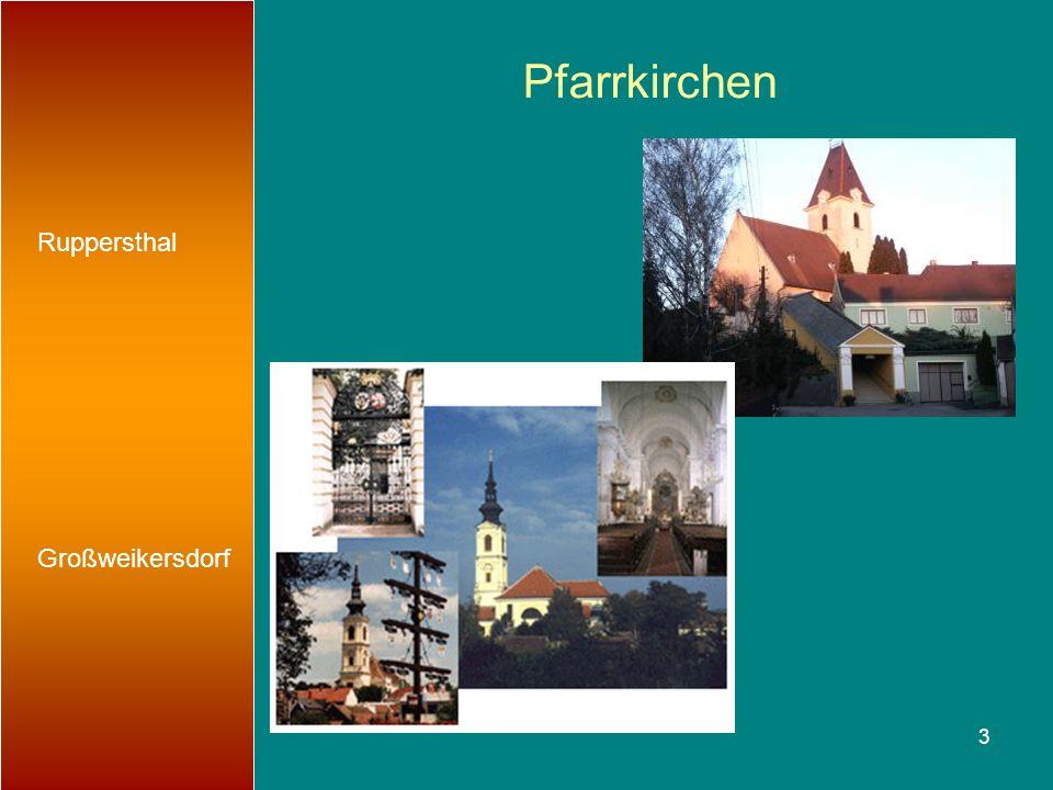 3 Pfarrkirchen Ruppersthal Großweikersdorf