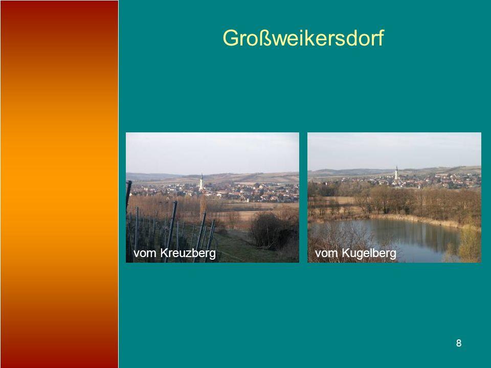 8 Großweikersdorf vom Kugelbergvom Kreuzberg