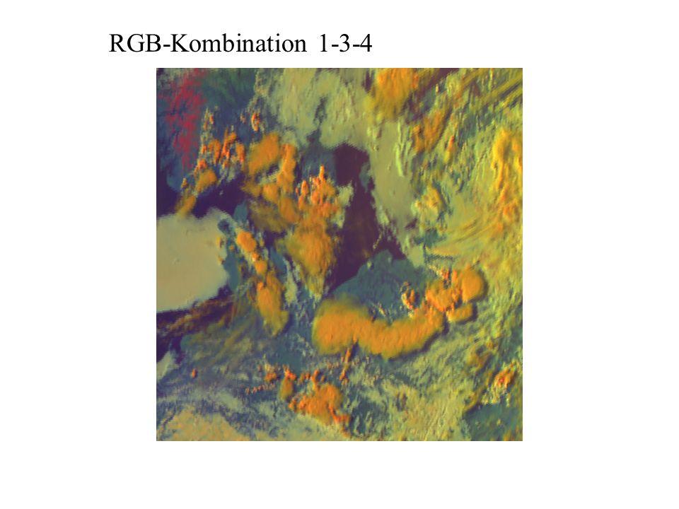 RGB-Kombination 1-3-4