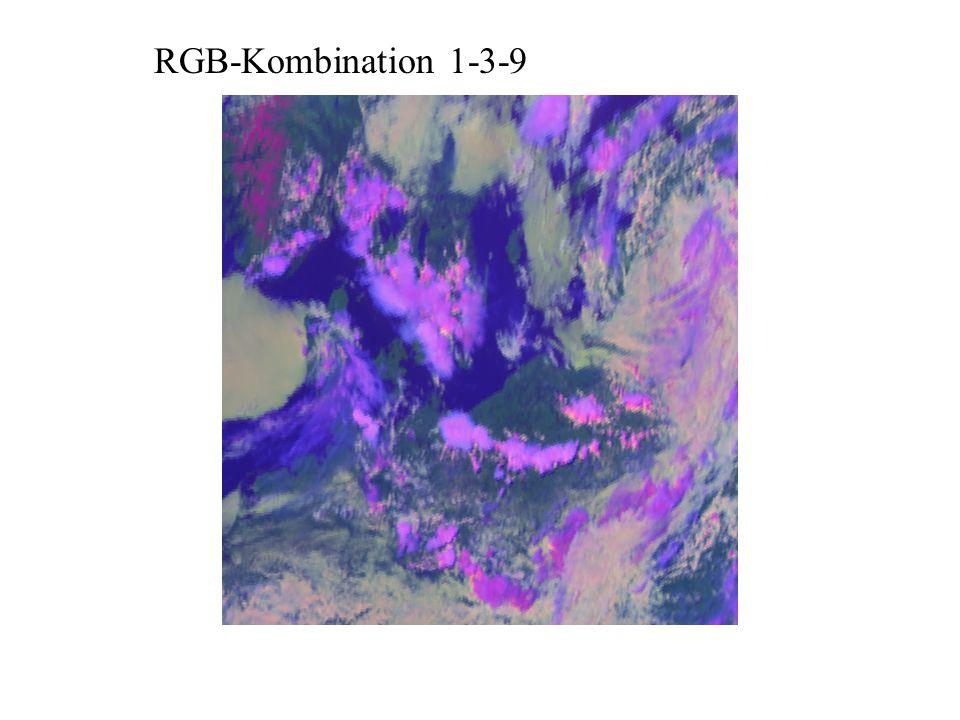 RGB-Kombination 1-3-9