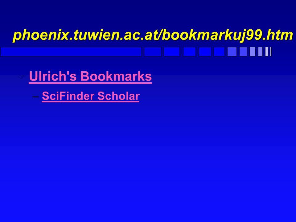 Projekt Digitale Bibliothek F INSPEC F http://www.zbp.univie.ac.at/inspec.html