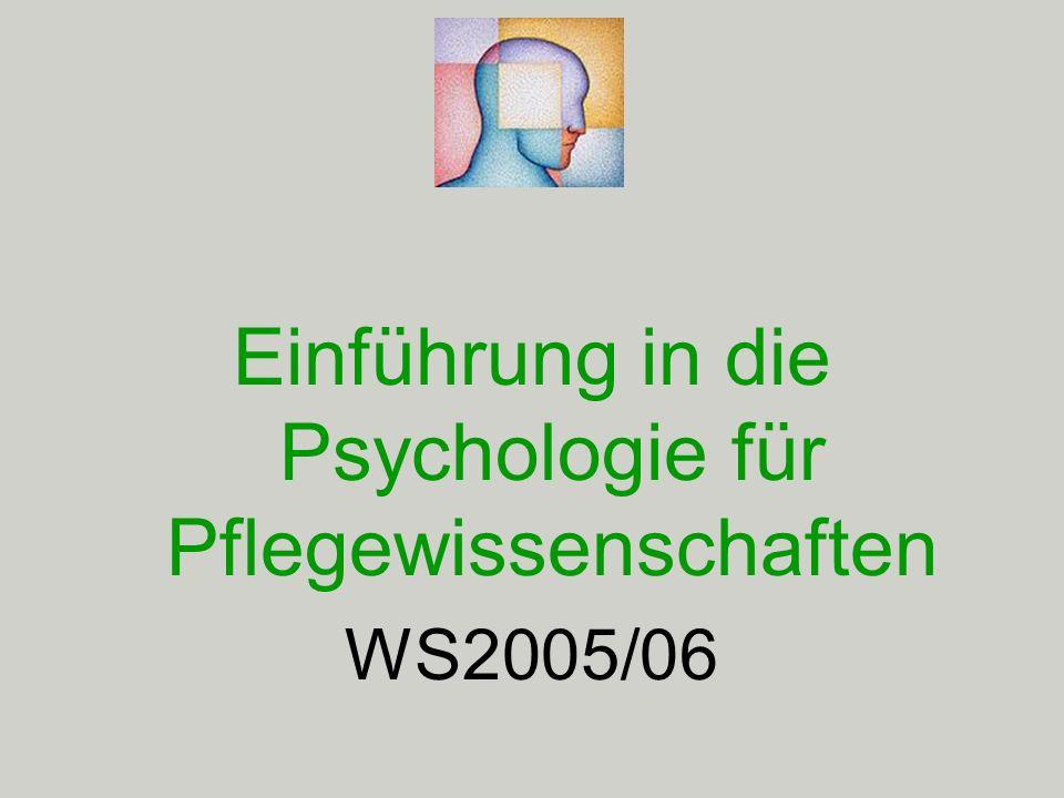 Einheit 3: 4.November, 2005 Bewusstsein 2