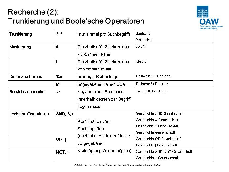 © Bibliothek und Archiv der Österreichischen Akademie der Wissenschaften Recherche (3): Expertensuche wti=mythos and wsw=athene wef=p or j or zSuche nach Zeitschrift