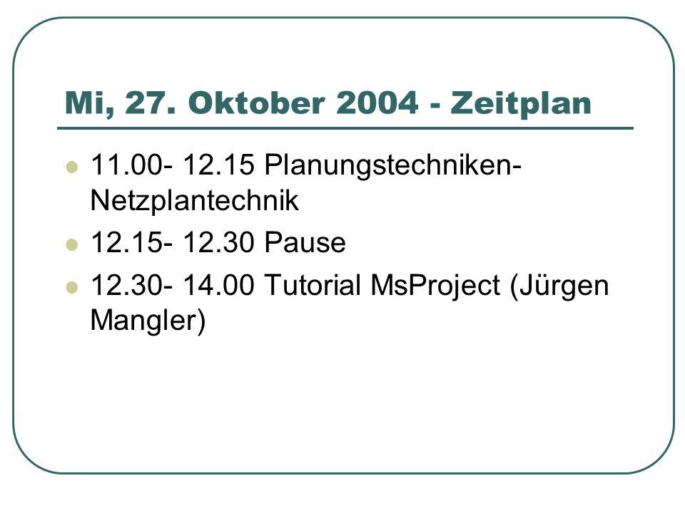 ( Böhm Abb. 9.20, S.272) Netzplantechnik - CPM