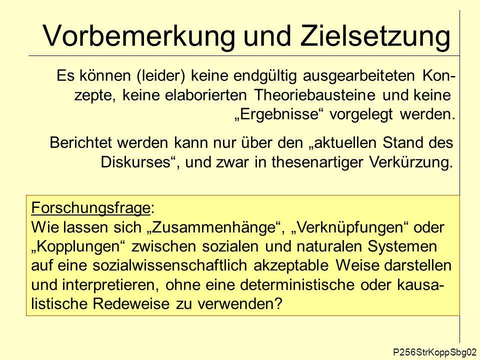 Sozialtheoretische Begründung.
