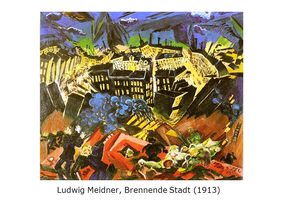 Alfred Lichtenstein: Die Dämmerung (1913) Ein dicker Junge spielt mit einem Teich.