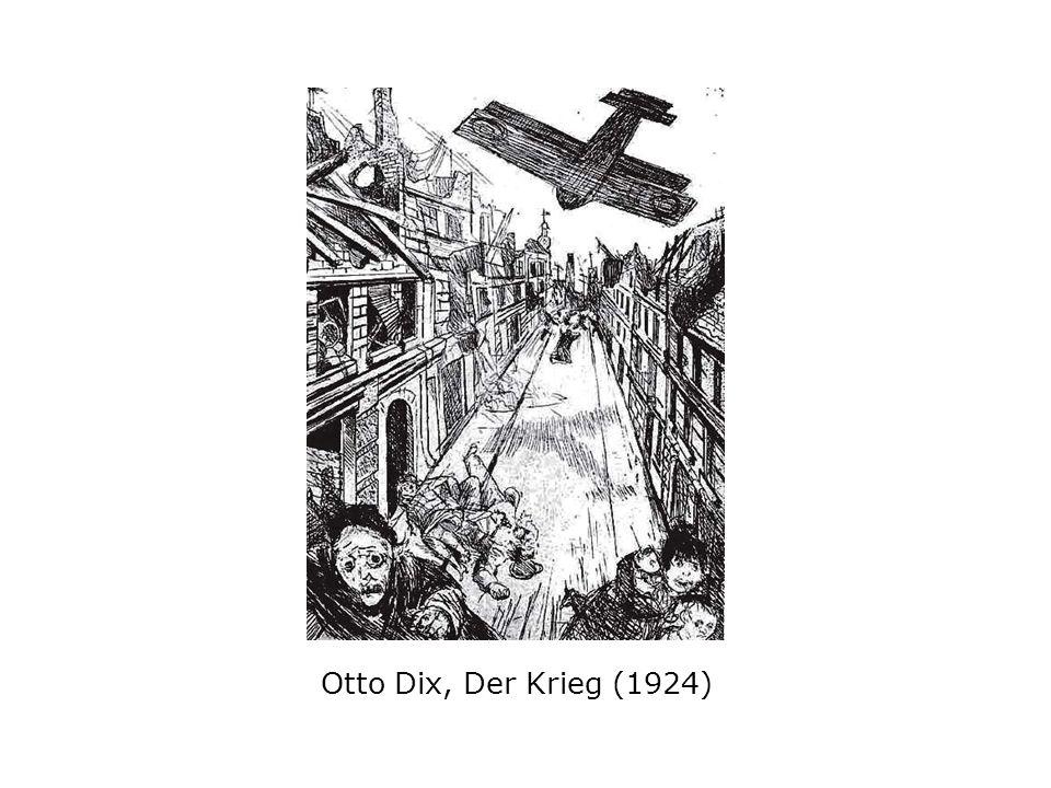 Otto Dix, Der Krieg (1924)