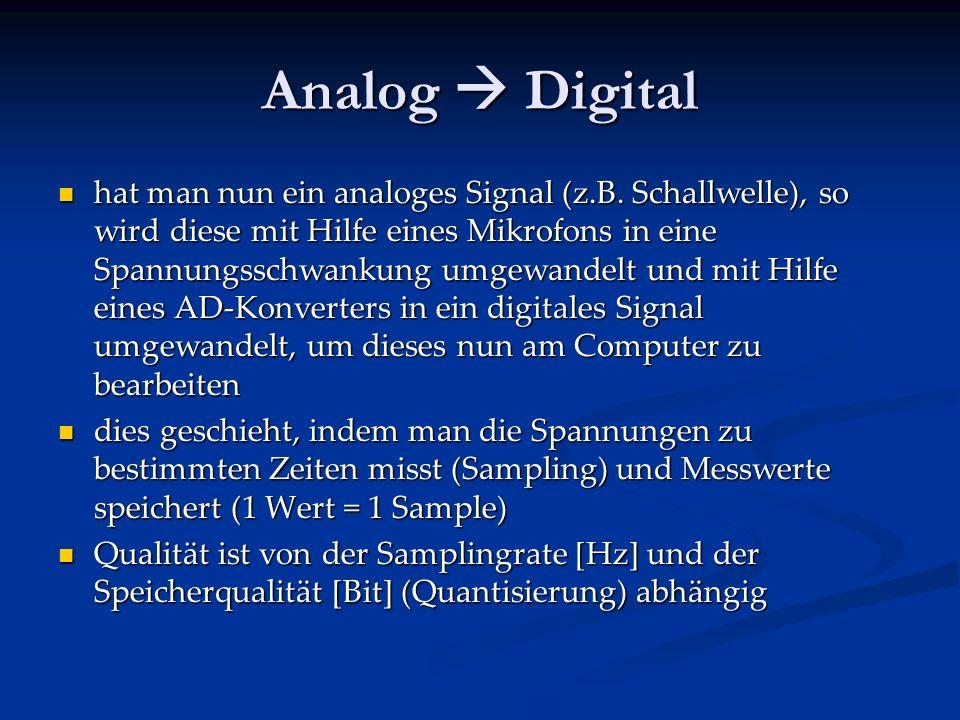Digitalsignal digitus = lat. für Finger (Binärsystem, Wert, Wort) digitus = lat. für Finger (Binärsystem, Wert, Wort) ist ein Takt vorgegeben, der die