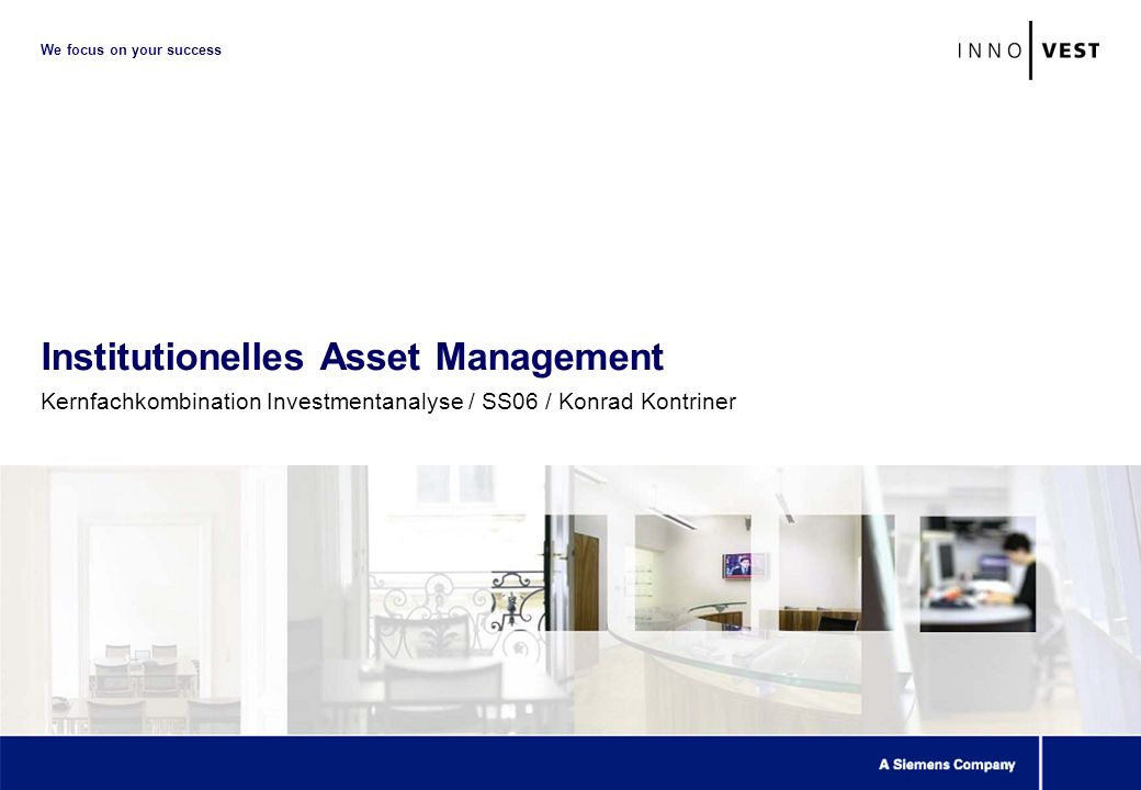 42 Inst. Asset Management Fallstudie: What moves Bond Markets?