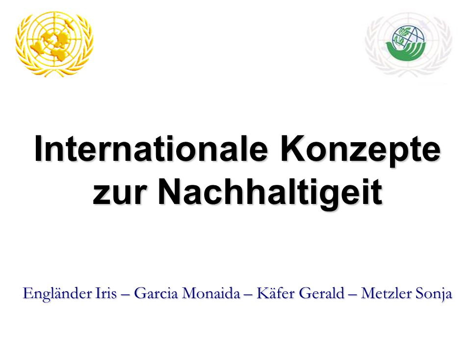 Deklaration über Umwelt und Entwicklung Verbindung von wirtschaftlichen Fortschritt mit Umweltschutz 27 Prinzipien (Grundsätze) wurde erstmals global das Recht auf nachhaltige Entwicklung verankert.