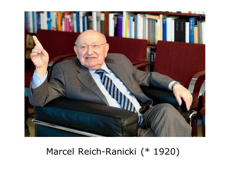 Marcel Reich-Ranicki (* 1920)