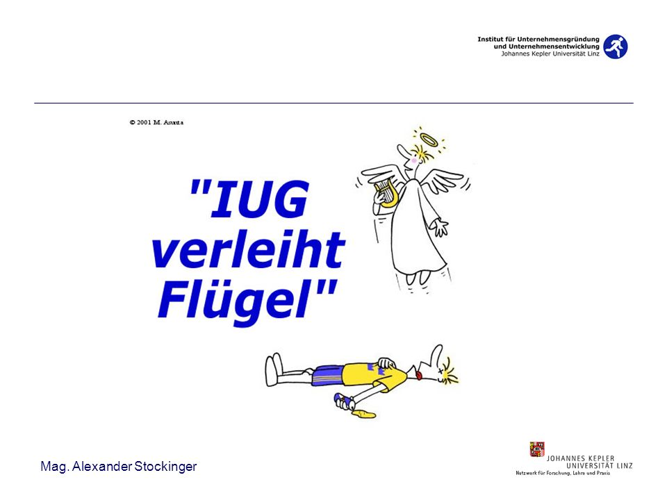 Zum Institut….1. Stiftungslehrstuhl in Ö. (2000) Studierende: ca.