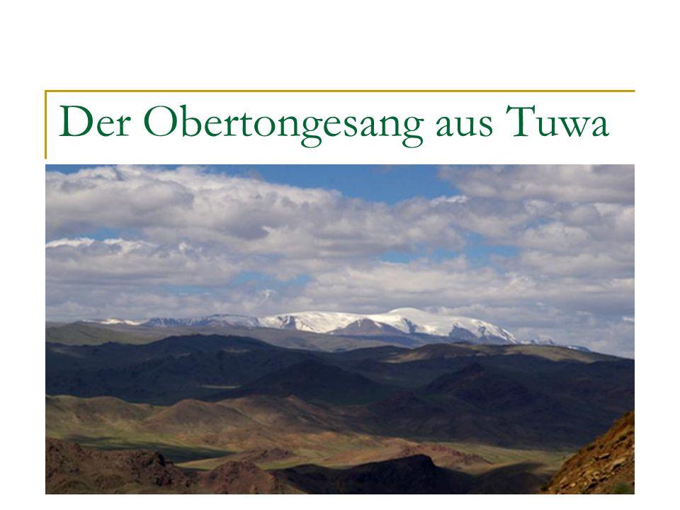 Inhalt 1.Tuwa: kurzgefasst, geographisches und kulturelles 2.