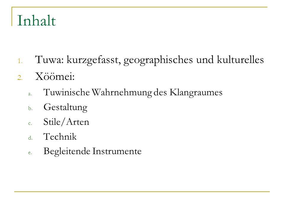 1. Tuwa – Geographische Lokalisation