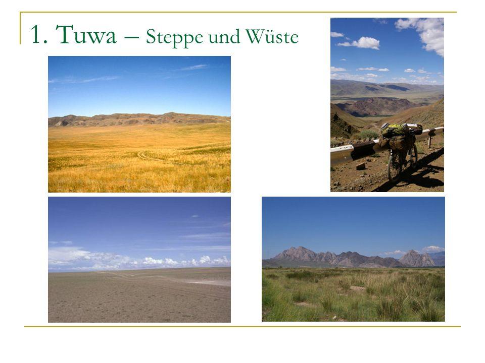 1. Tuwa – Taiga und Tundra
