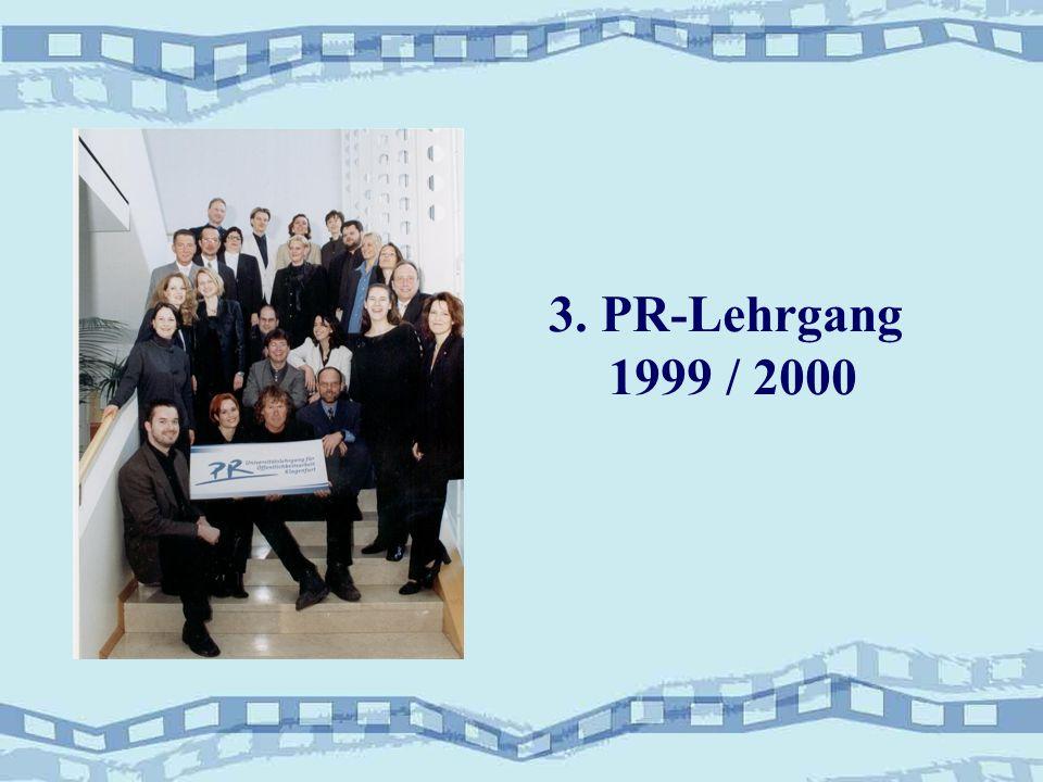 3. PR-Lehrgang 1999 / 2000