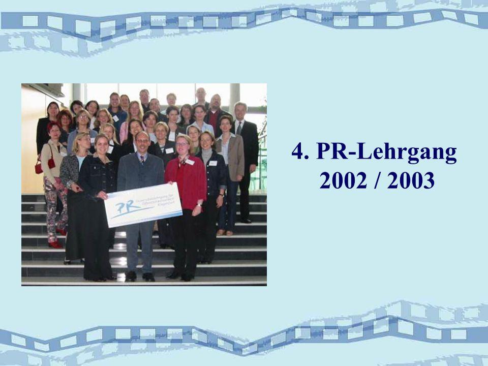 4. PR-Lehrgang 2002 / 2003
