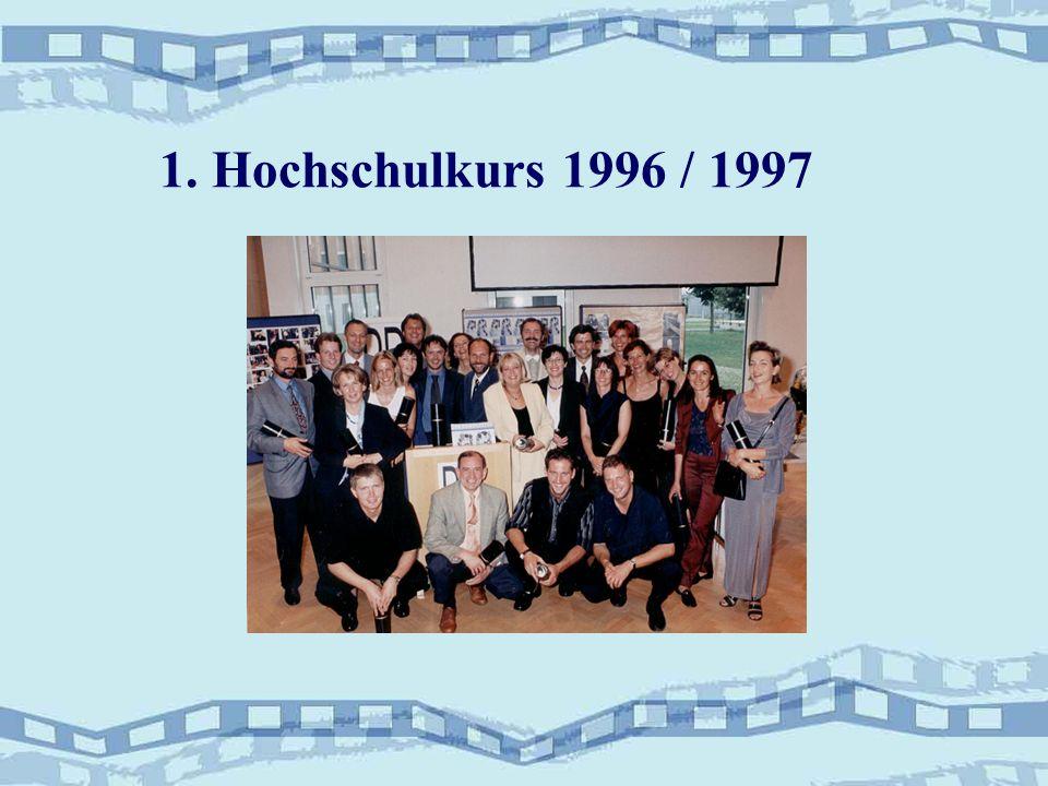 1. Hochschulkurs 1996 / 1997
