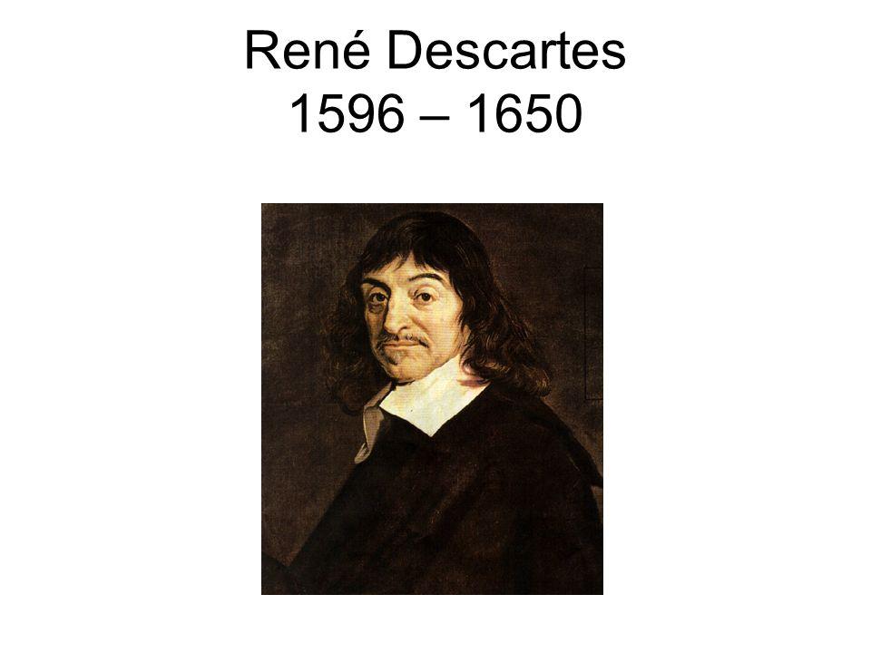 René Descartes 1596 – 1650