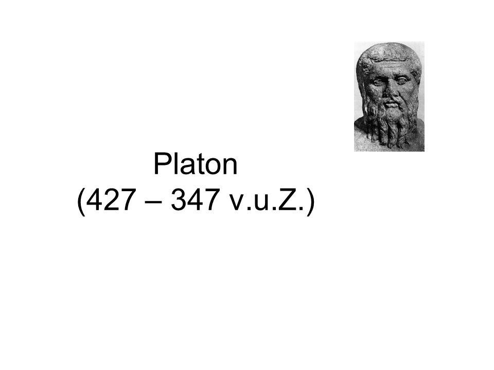 Platon (427 – 347 v.u.Z.)