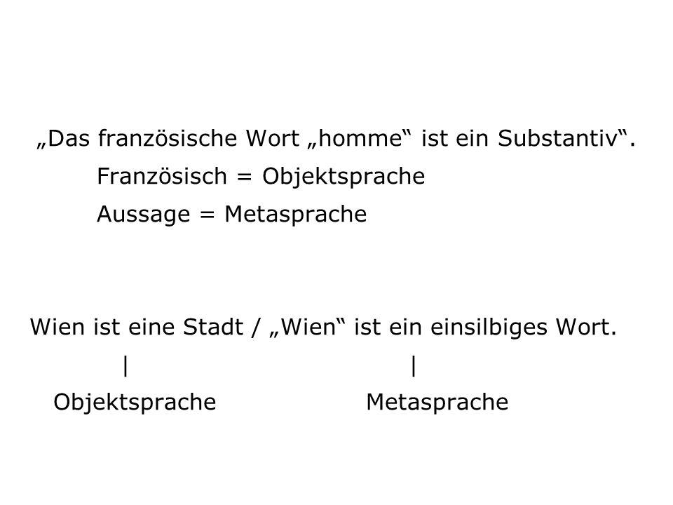Jelineks Verfahren: Verwandlung von Objektsprache in Metasprache (Marlies Janz, 1995)