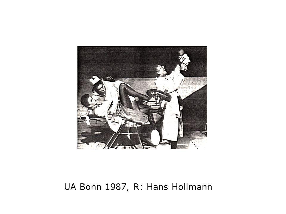 UA Bonn 1987, R: Hans Hollmann