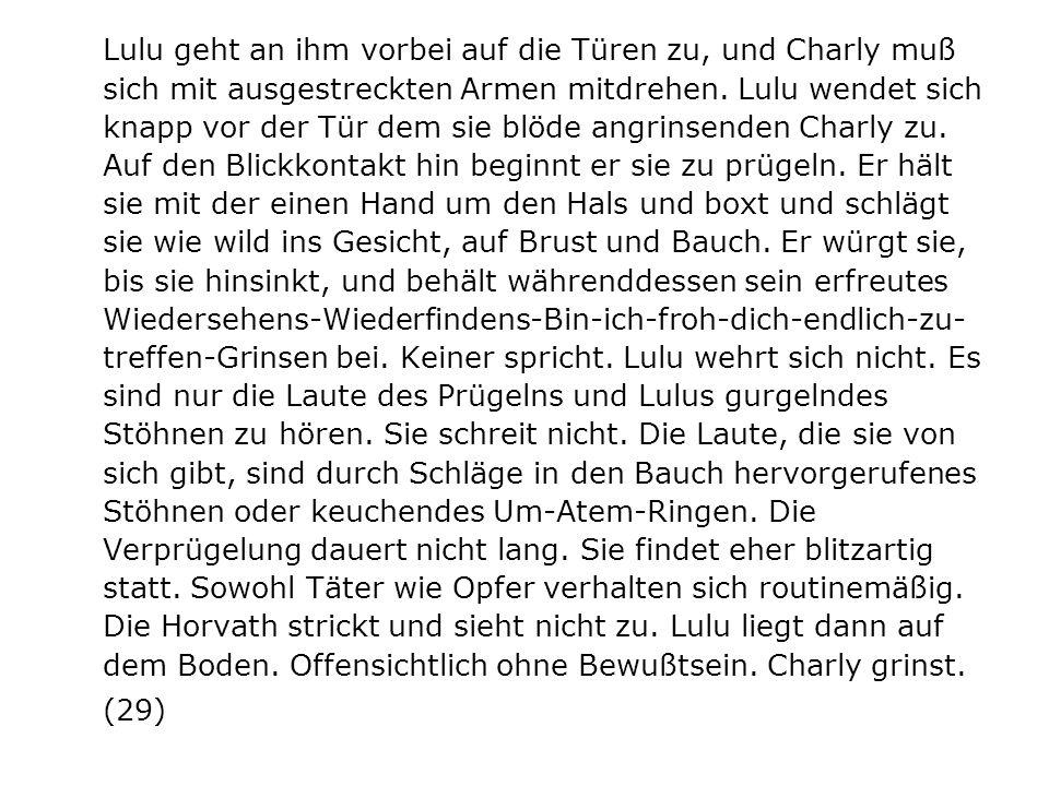 Frank Wedekind: Erdgeist (1895) Die Büchse der Pandora (1902) ------------------------------------- Lulu (1913) Luise Brooks in W.