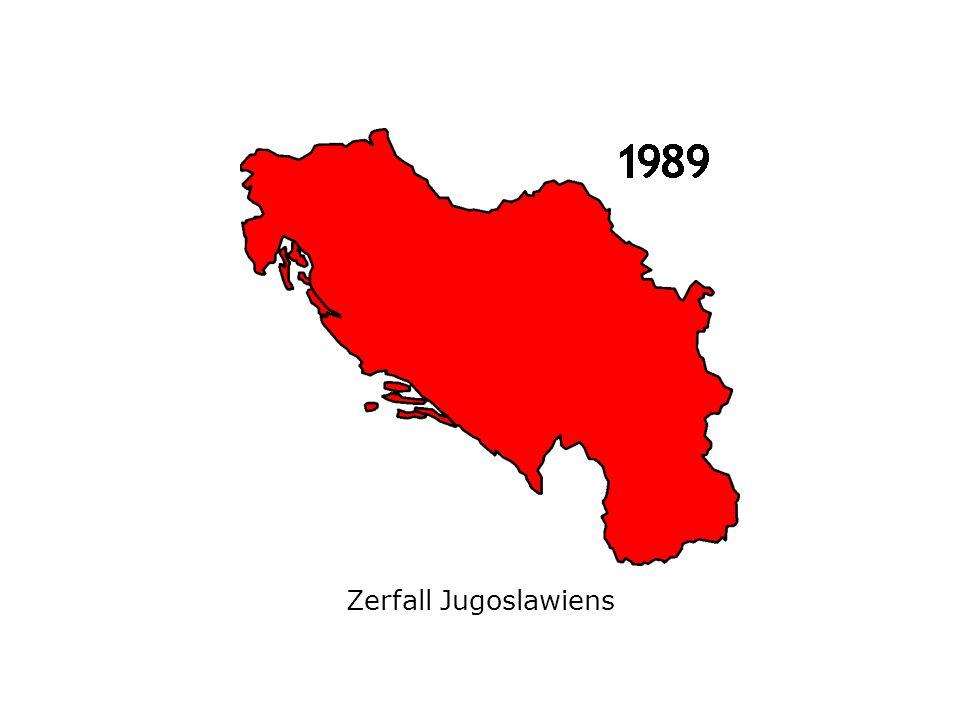 Zerfall Jugoslawiens