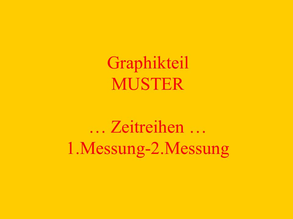 Graphikteil MUSTER … Zeitreihen … 1.Messung-2.Messung