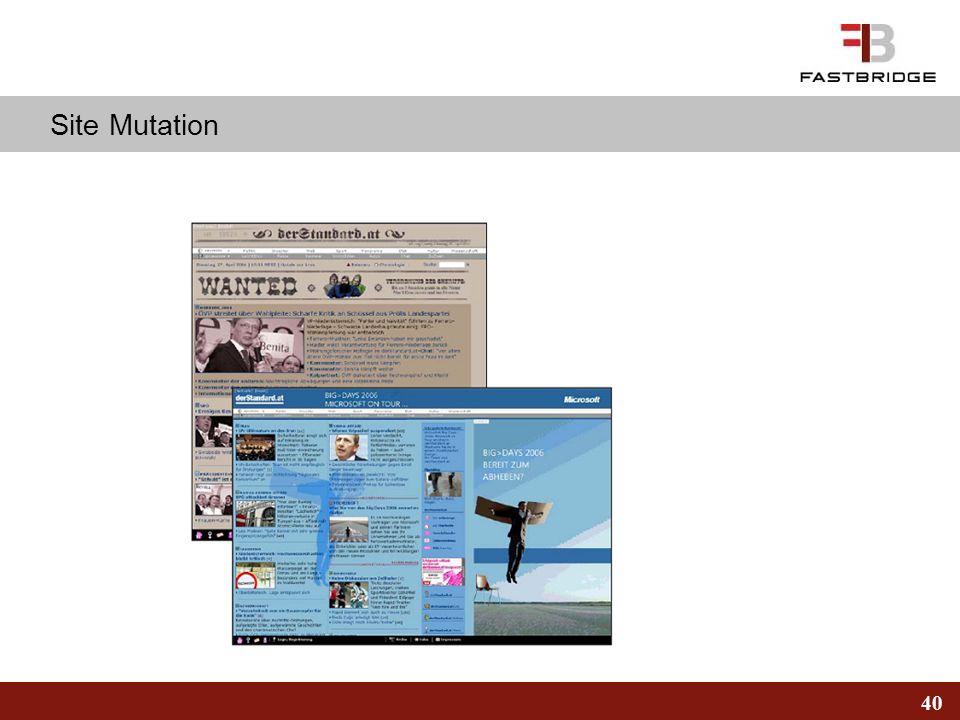 40 Site Mutation