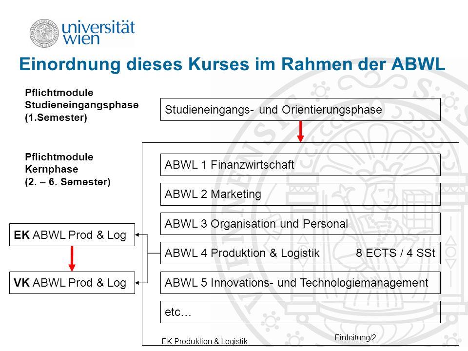 EK Produktion & Logistik Einleitung/13 Kurs auswählen