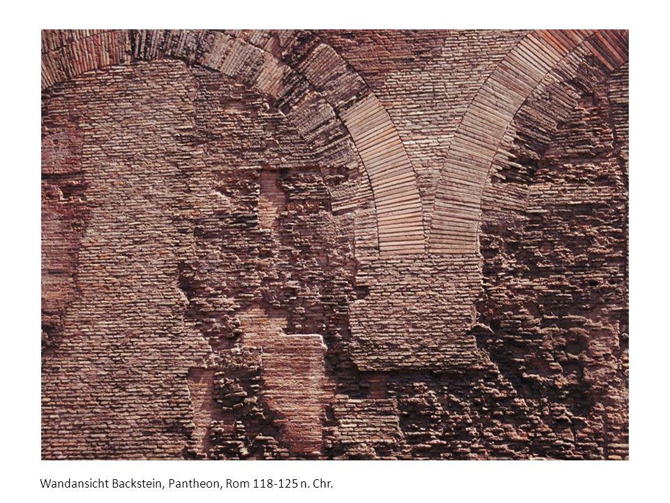 Wandansicht Backstein, Pantheon, Rom 118-125 n. Chr.