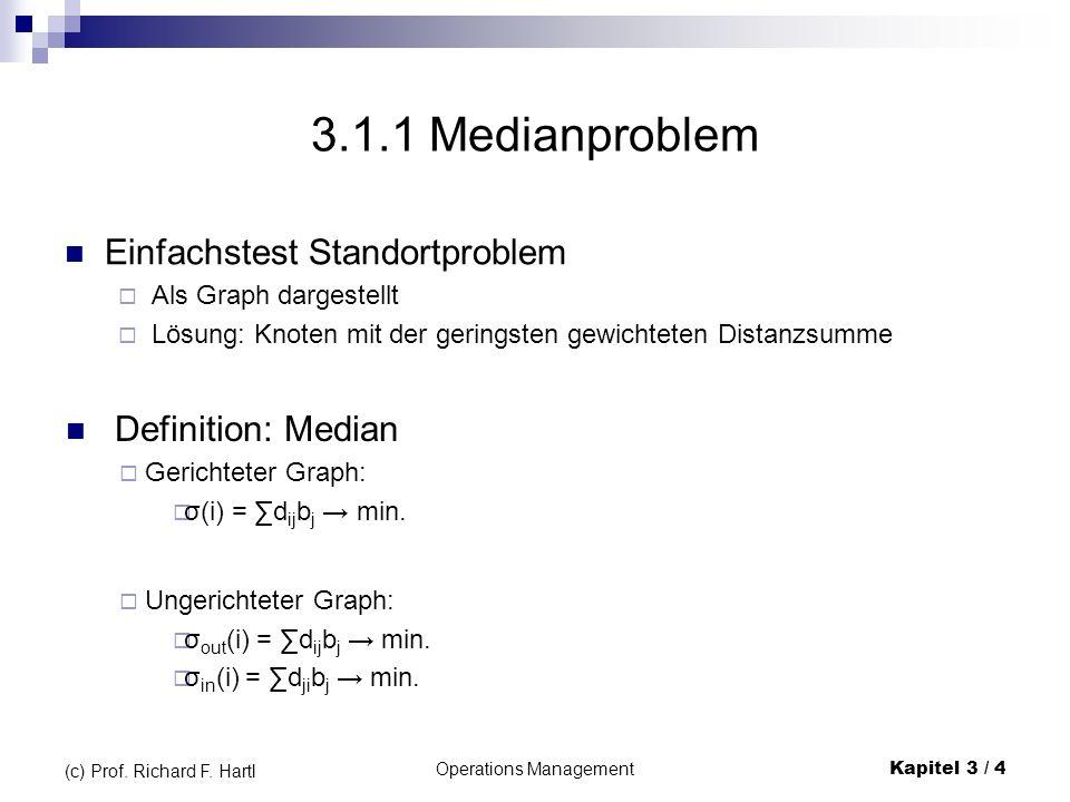 Operations ManagementKapitel 3 / 15 (c) Prof.Richard F.