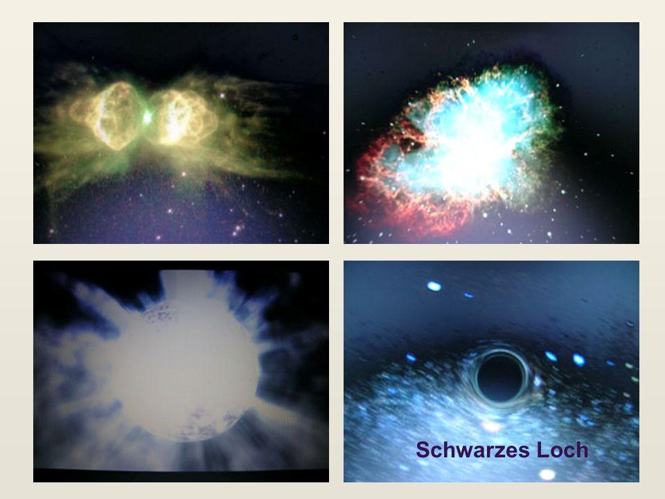 Nebel, WeißerZwerg, SL Schwarzes Loch