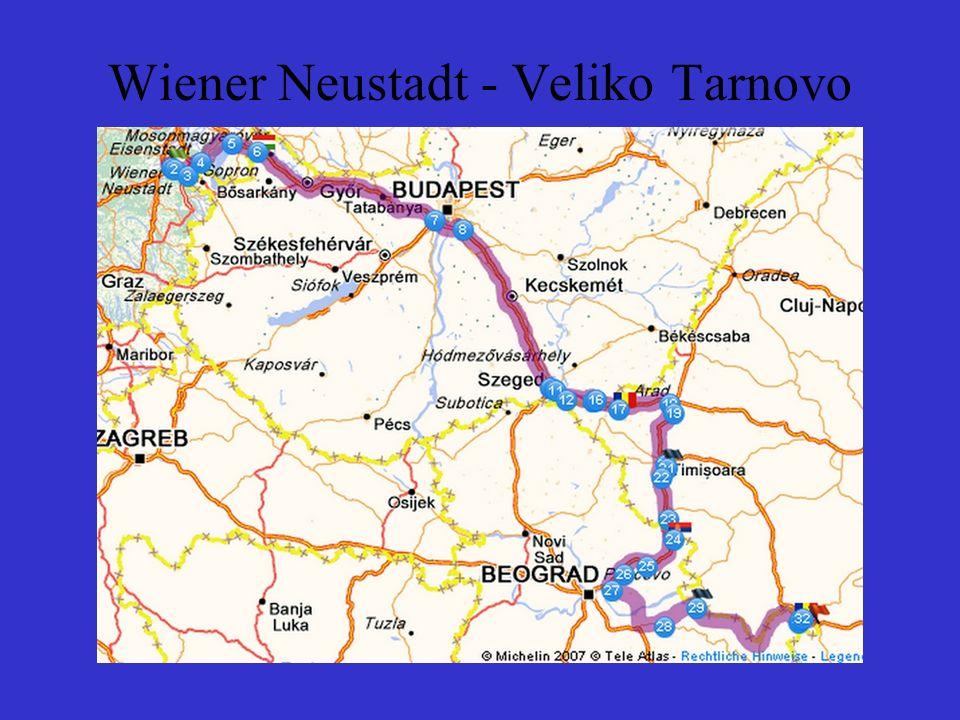Wiener Neustadt - Veliko Tarnovo