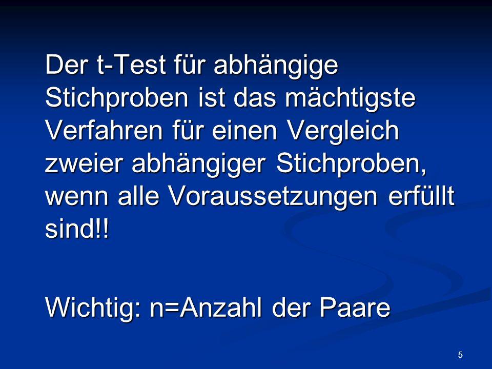 T-Test für abhängige Stichproben Übung SPSS! Tamara Katschnig