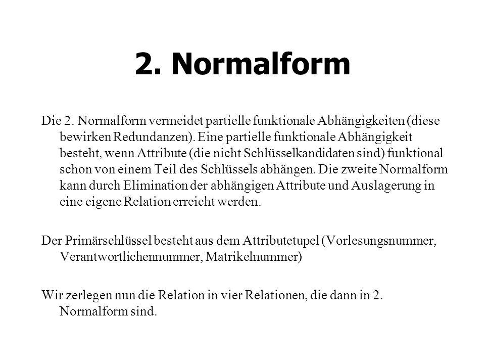 2.Normalform Die 2.
