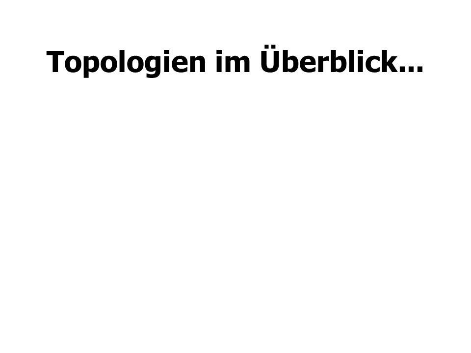 Topologien im Überblick...