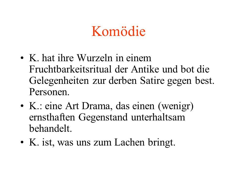 Komödie K.